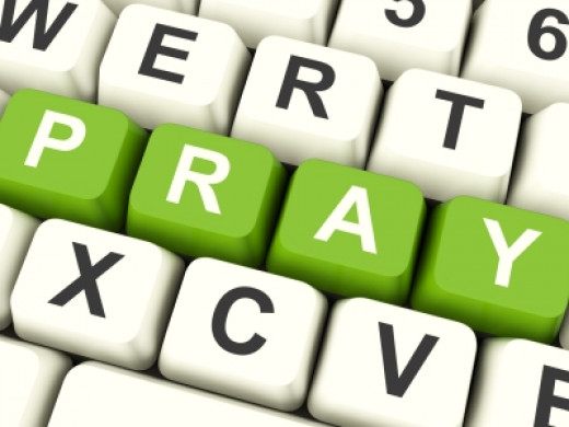 Prayer is conversation with God; talk to him and listen to what he has to say to you.