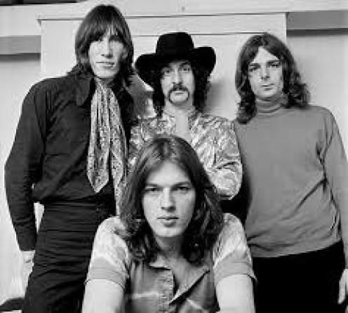 Roger Waters, David Gilmore, Nick Mason and Richard Wright made up post Syd Barrett, Pink Floyd.