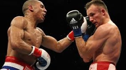 Andre Ward beat Mikkel Kessler by 11 round  decision. Ward dominated every round if the bout like he usually does.