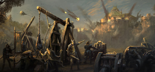 This is my current wallpaper. It's the Siege of Cyrodil