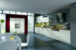 Single Line Layout Kitchen