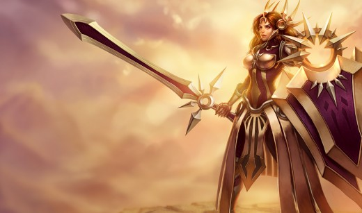 Leona, the Radiant Dawn, League of Legends, copyright Riot Games, Inc.