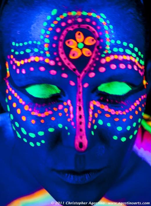 Face UV Tattoo
