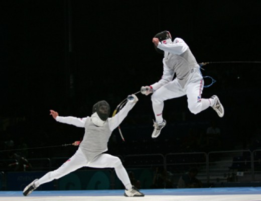 Move Faster When Fencing - Footwork Used in Fencing
