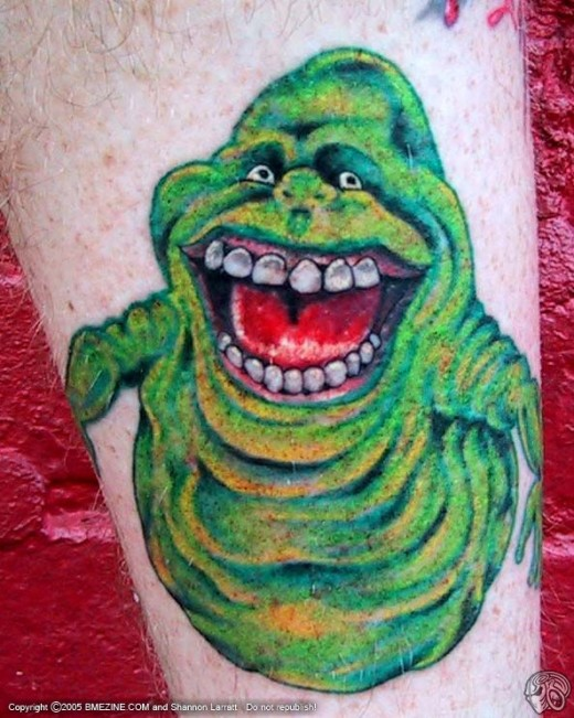 "Slimer from ""Ghostbusters"""