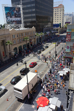 Hollywood Boulevard from Anthony Gurr flickr.com