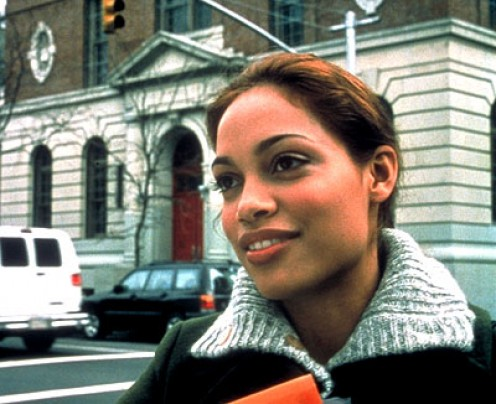 "Prior to being literally plucked off the street to star in Larry Clark's controversial ""Kids"" (1995), actress Rosario Dawson exhibited little interest in what became her eventual career. The 15-year-old was discovered on the front steps of her buildi"