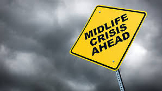 A midlife crisis is not fun