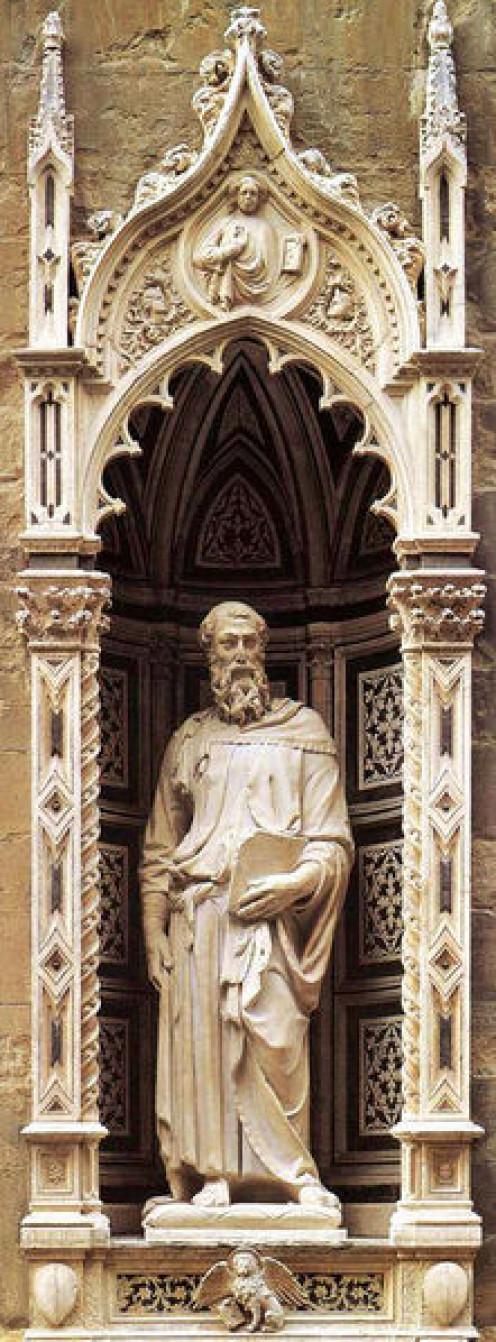 """Donatello's """"St Mark"""""""