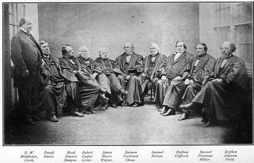 Supreme Court 1860's