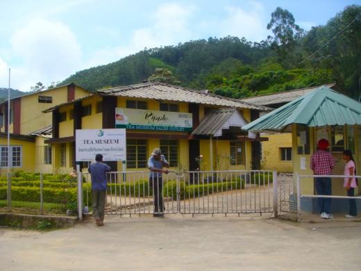 The Munnar Tea Museum.