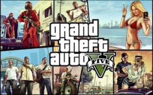 Grand Theft Auto 5 features the main player with a Rottweiler for a side kick. The dog will attack and subdue your enemies upon your command.