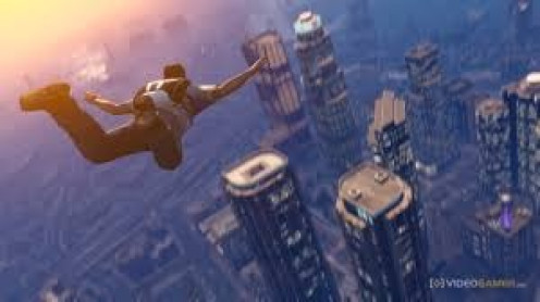 In GTA 5 you can jump from airplanes and fly in helicopters. This allows you to see the city from above which along with the sounds, graphics and story line, make this game one of the best of the series.