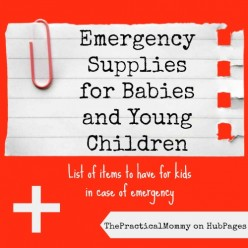 What to Have in an Emergency Kit for Babies and Young Children