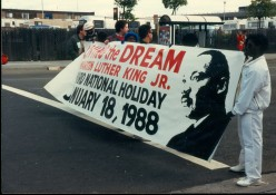 Dr. Martin Luther King Day March 1988