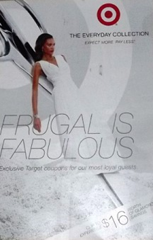 Even Target knows that frugal can be Fabulous