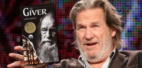 Actor Jeff Bridges who will play 'the Giver.'