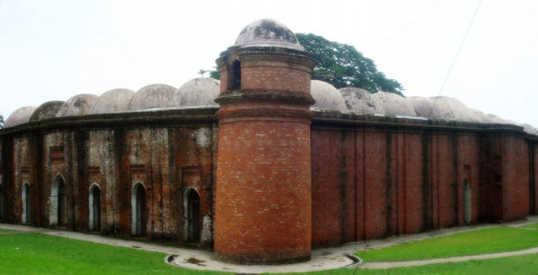 Historic Sixty Tomb Mosque