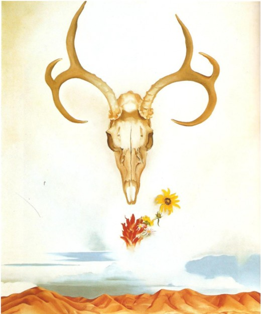 Figure 3:  Summer Days, 1936.  Oil on canvas, 92.1 x 76.7 cm.
