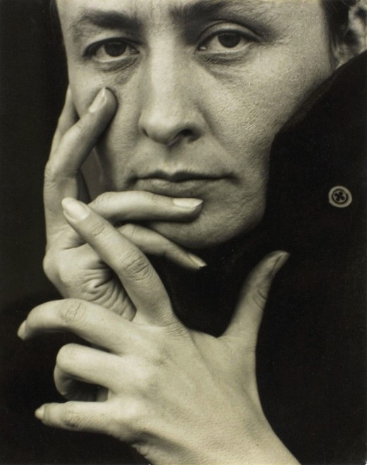 Georgia O'Keeffe, photographed by Alfred Stieglitz