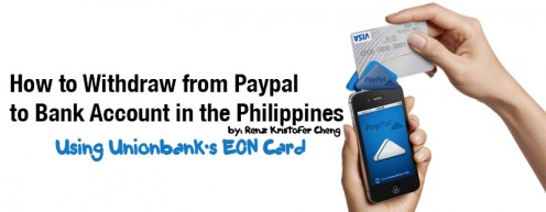 How to Withdraw from Paypal to a Bank Account in the Philippines