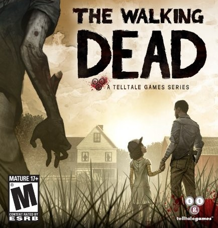 Box art for Telltale's The Walking Dead game