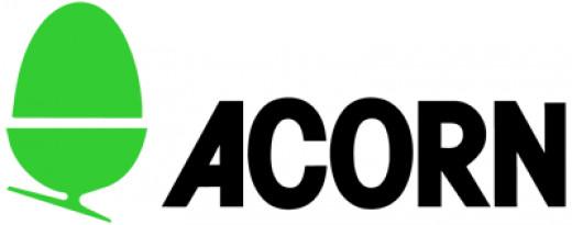 The famous Acorn logo