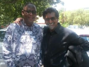 Zwelenzima Vavi and Jay Naidoo