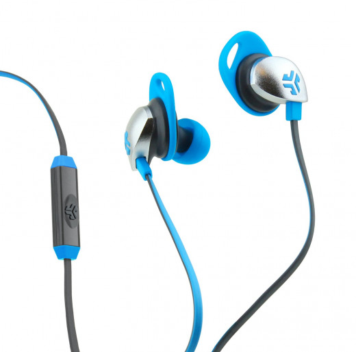 JLAB Earbuds (Blue, gray)