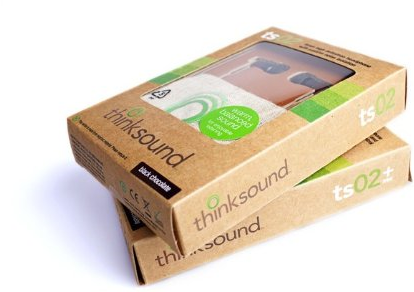 Thinksound ts02 8mm In-Ear High(Package)