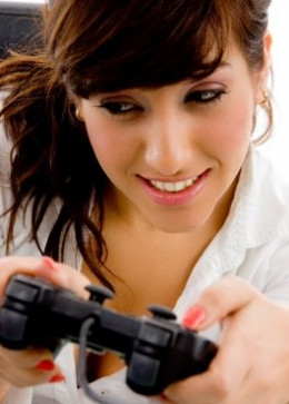 Become your boyfriend's friend by becoming his gaming buddy.