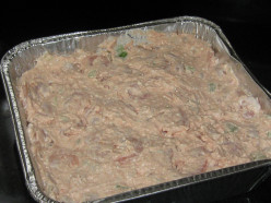 Bear N Mom Recipes - Salad Shrimp Dip or Spread