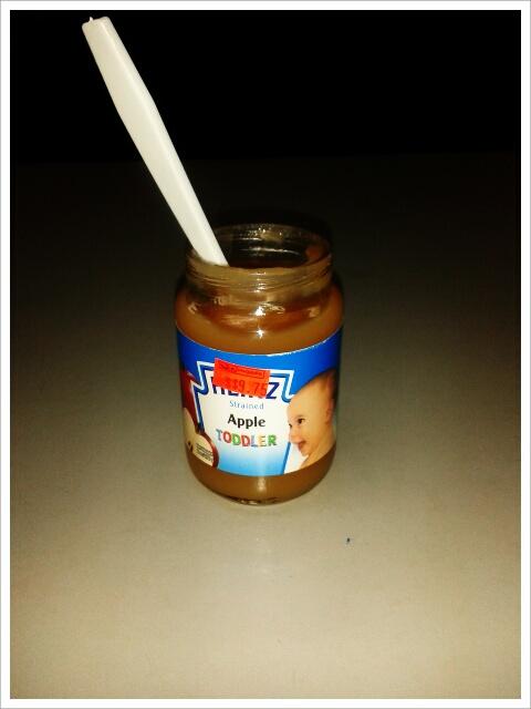 Heinz Apple Baby food