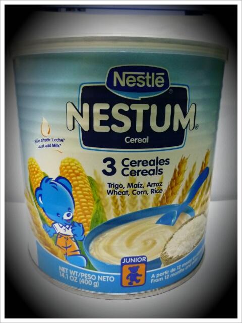 Tasty baby Nestum