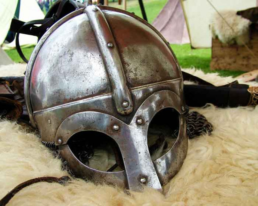 A king's war helm