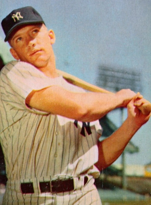 Mickey Mantle won 7 World Series with the Yankees