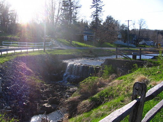 Holmes, NY - A picturesque town along the Appalachian Trail in New York State.