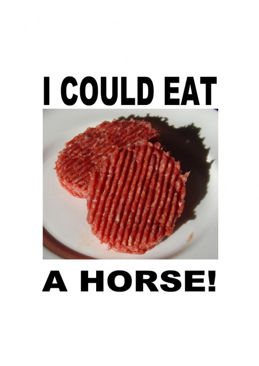 More Horsemeat Jokes on Gifts and Cards from my Zazzle shop. You can customize them all by adding your own text and photos.