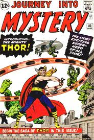 Thor makes his debut in Journey Into Mystery # 83