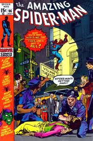 Notice how the comic book code seal of approval is missing from this issue, Amazing Spider-man # 96