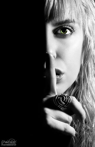 Silence from Oscar Sanchez flickr.com