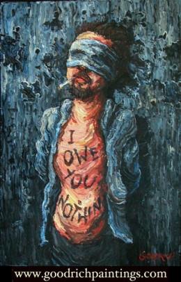 Self Portrait: Defiant from David Goodrich flickr.com