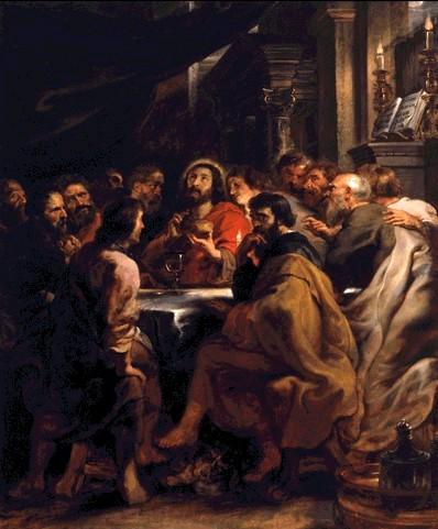 The Last Supper, Peter Paul Rubens (1577-1640)