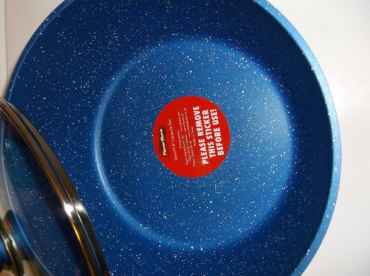 """9.5"""" Casserole Pan by FlavorStone"""