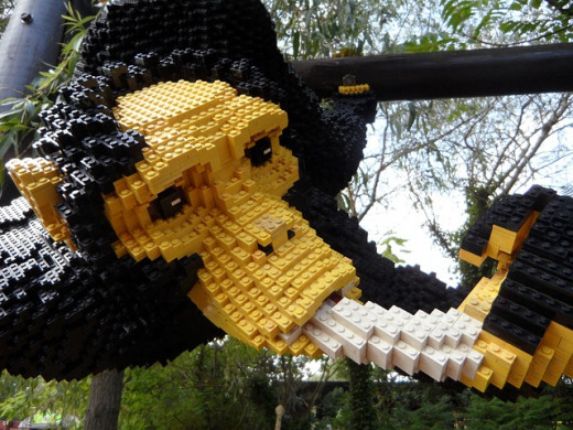 Amazing things can be created from lego with an open mind.