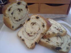 Fluffy Sweet Cinnamon Raisin Bread