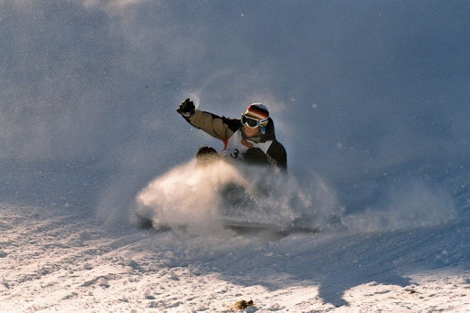 Snowboarding has grown in popularity over the past few years.