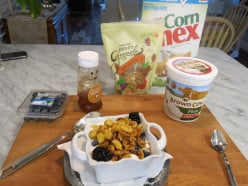 Joey´s Quick Healthy Breakfast Parfait Recipe