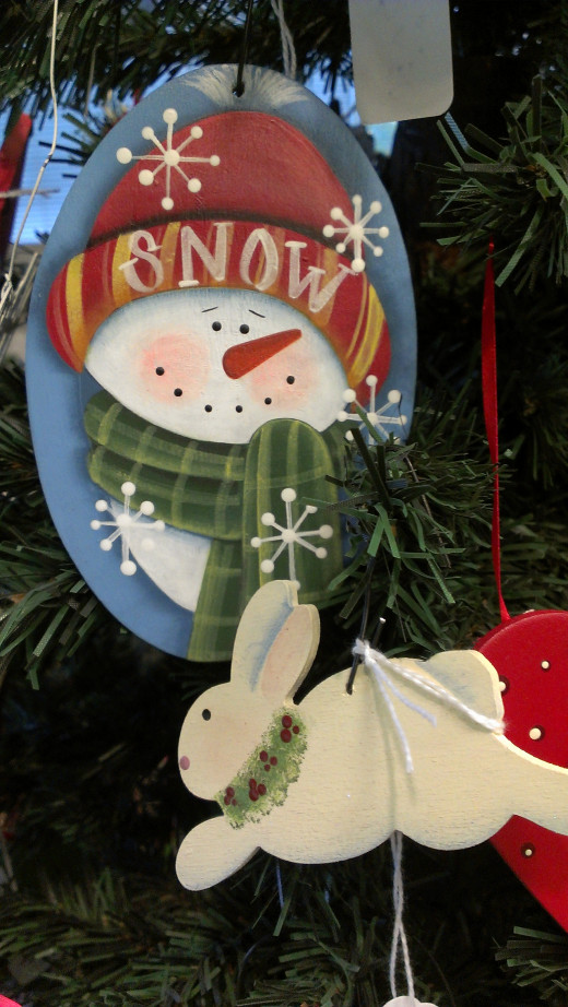 Some ornaments I have painted and sold!