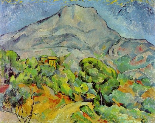 Paul Cézanne (1839-1906) painted Road at Sainte-Victoire Mountain circa 1898-1902.
